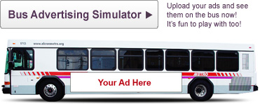Bus Advertising Simulator